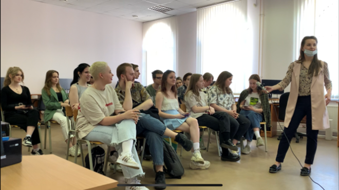 THE FIRST MEETING OF STUDENTS ON THE IMPROFEDU PROJECT