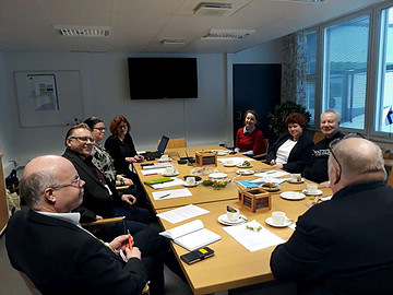"""DISCUSSION OF THE PROJECT APPLICATION FOR THE ENI CBC CROSS-BORDER COOPERATION PROGRAM """"FINLAND-RUSSIA"""""""