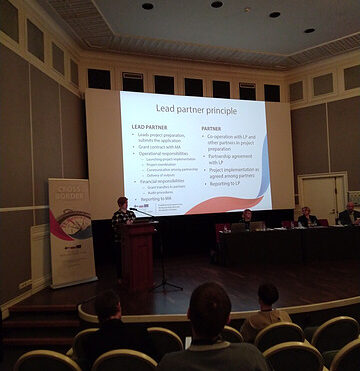 PARTICIPATION IN THE SEMINAR FOR THE FIFTH QUALIFYING ROUND OF THE CBC RUSSIA–SOUTH-EASTERN FINLAND 2014-2020